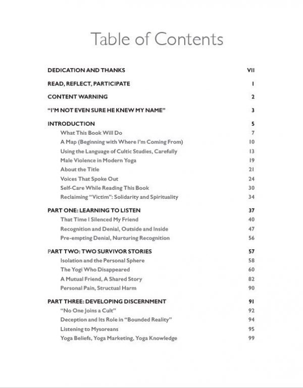 Table of Contents Pg1