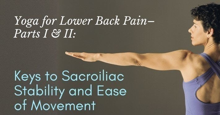 Sacroiliac Stability And Ease of Movement Cover